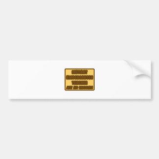 Instant Kindergarten Teacher.. Add Chocolate Bumper Sticker
