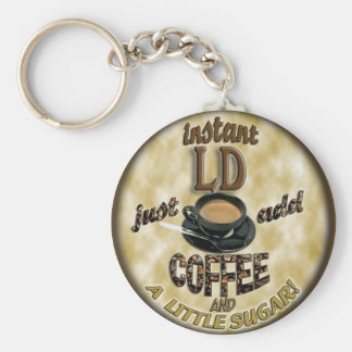 INSTANT LD - LICENSED DIETITIAN - ADD COFFEE KEYCHAIN