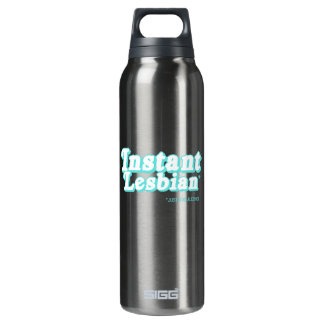 Instant Lesbian  16 Oz Insulated SIGG Thermos Water Bottle