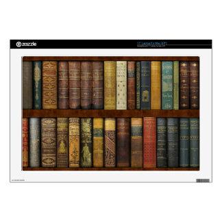 Instant Library Bookcase de Monsieur Calcomanías Para Portátiles