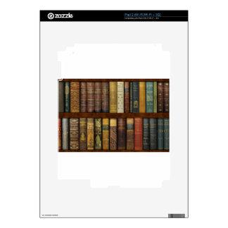 Instant Library Bookcase de Monsieur Skin Para El iPad 2