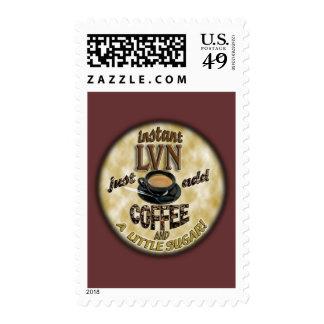 INSTANT LVN LICENSED VOCATIONAL NURSE ADD COFFEE POSTAGE STAMP