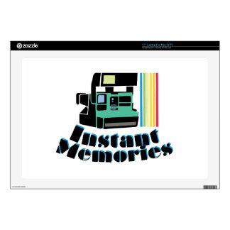 "Instant Memories 17"" Laptop Skins"