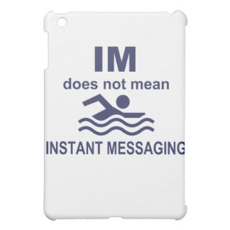 Instant Messaging for Swimmers iPad Mini Covers