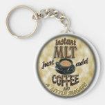 INSTANT MLT - ADD COFFEE - MEDICAL LABORATORY TECH KEYCHAIN