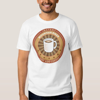 Instant Mountain Biker T-shirts