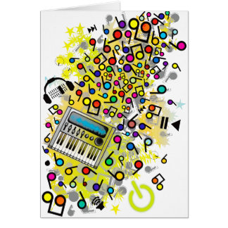 Instant_Music Greeting Card