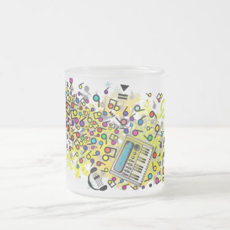 Instant_Music Frosted Glass Coffee Mug