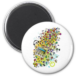 Instant_Music Fridge Magnets