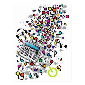 Instant_Music Postcard