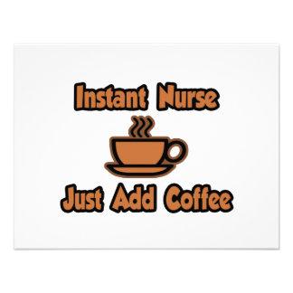 Instant Nurse...Just Add Coffee Invitation