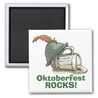 Instant Oktoberfest 2 Inch Square Magnet