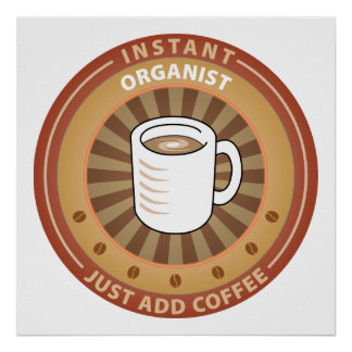 Instant Organist Posters