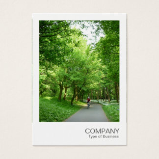 Instant Photo 021 - Cycle Way Business Card