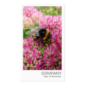 Instant Photo - Bumble Bee on Sedum Business Card Template