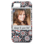Instant photo - photoframe with pattern iPhone 5 covers
