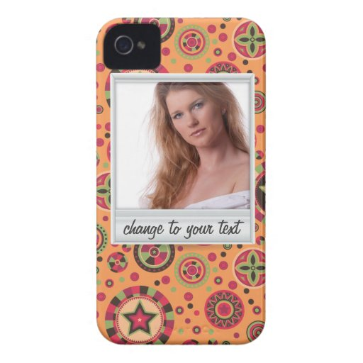 Instant photo - photoframe with pattern iPhone 4 covers