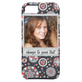 Instant photo - photoframe with pattern iPhone SE/5/5s case