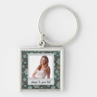 Instant photo - photoframe with pattern keychain
