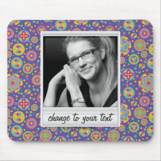 Instant photo - photoframe with pattern mousepads