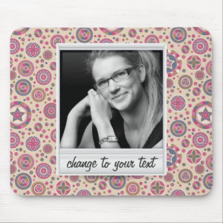 Instant photo - photoframe with pattern mouse pads