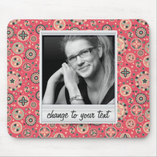 Instant photo - photoframe with pattern mouse pad
