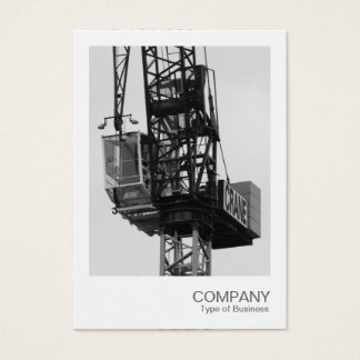 Instant Photo - Tower Crane 02 Business Card
