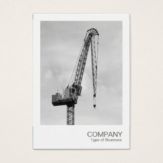 Instant Photo - Tower Crane Business Card
