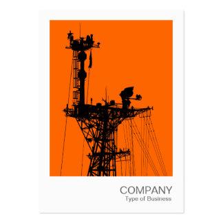 Instant Photo - Warship Radio Mast Large Business Card