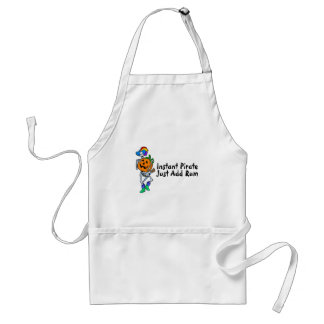 Instant Pirate Just Add Rum (Halloween Pirate) Adult Apron