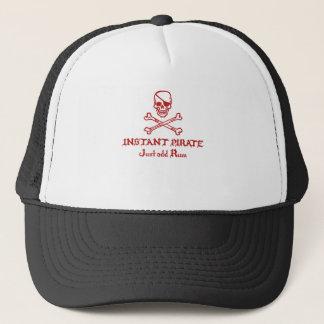 Instant Pirate Just add Rum Trucker Hat