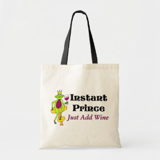 """Instant Prince, Just Add Wine"" Wine Prince Tote Bag"