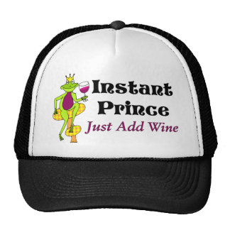 """Instant Prince, Just Add Wine"" Wine Prince Trucker Hat"