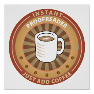 Instant Proofreader Posters
