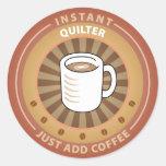 Instant Quilter Sticker