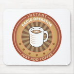 Instant Radio Operator Mouse Mat