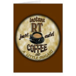 INSTANT RT RADIOLOGY TECH XRAY - ADD COFFEE GREETING CARD