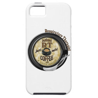 INSTANT RT RESPIRATORY THERAPIST ADD COFFEE iPhone 5 COVER