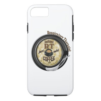 INSTANT RT RESPIRATORY THERAPIST ADD COFFEE iPhone 8/7 CASE