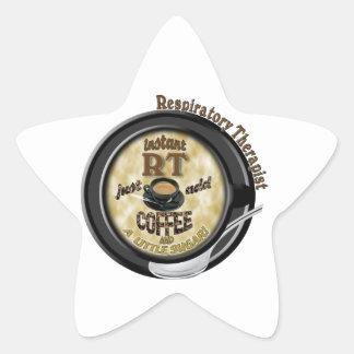 INSTANT RT RESPIRATORY THERAPIST ADD COFFEE STAR STICKER