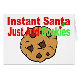 Instant Santa Card