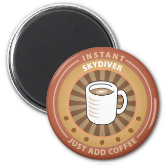 Instant Skydiver 2 Inch Round Magnet