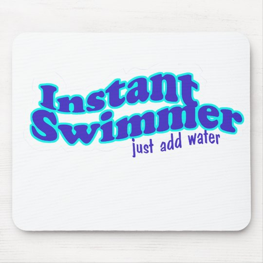 instant swimmer mouse pad