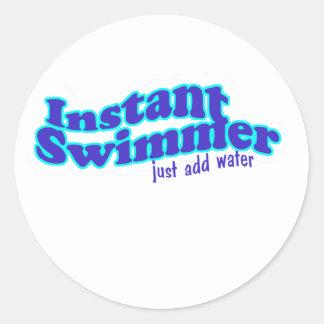 Instant Swimmer Sticker