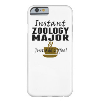 Instant Zoology Major Just Add Coffee Barely There iPhone 6 Case
