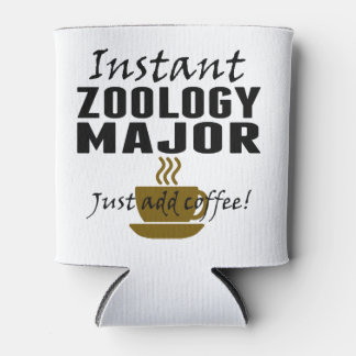 Instant Zoology Major Just Add Coffee Can Cooler