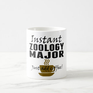 Instant Zoology Major Just Add Coffee Classic White Coffee Mug