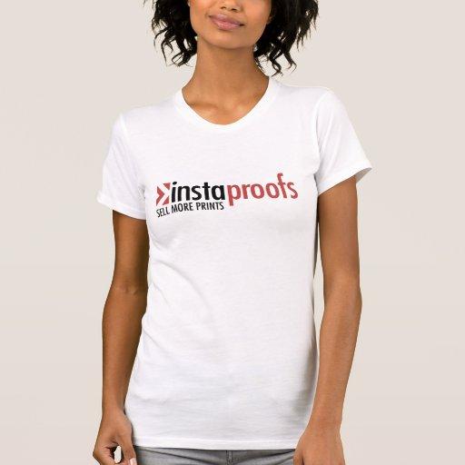 Instaproofs - el T escarpado de las mujeres Camiseta