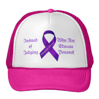 Instead of Judging, Educate Yourself Mesh Hat