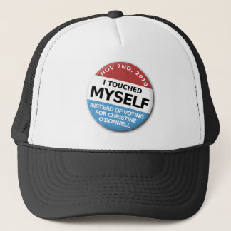 ...Instead Of Voting For Christine O'Donnell Trucker Hat